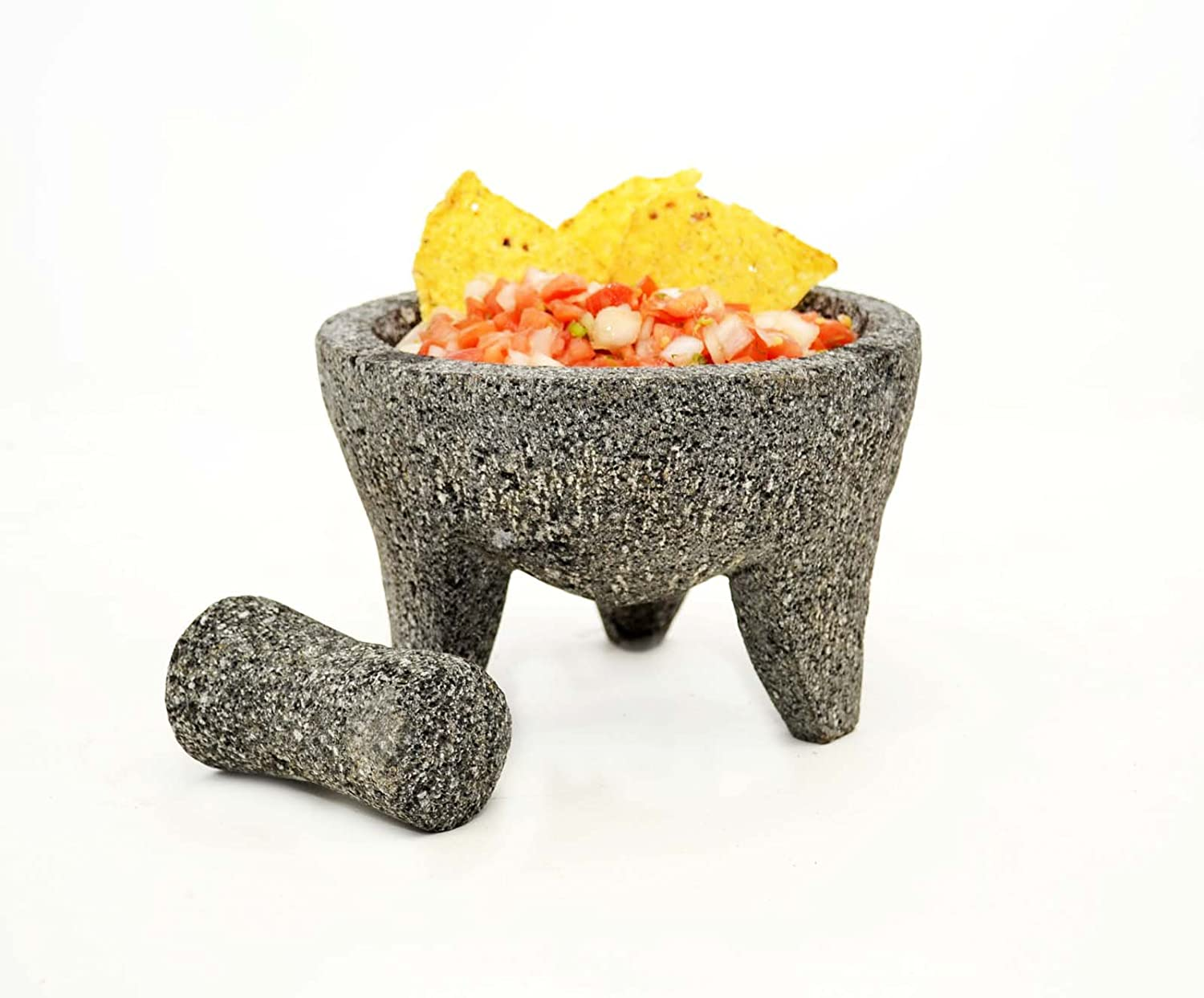 Amazon.com: Laredo Mortar and Pestle Molcajete-6.25 Inches in Diameter x 4 Inches High: Kitchen & Dining