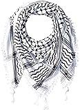 Hirbawi Premium Arabic Scarf 100% Cotton Shemagh Keffiyeh 47G Arab Scarf Made in Palestine
