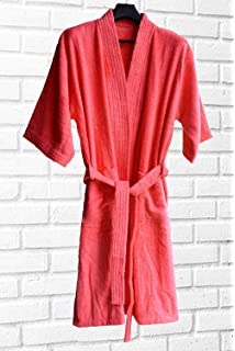 AVIONI Loomkart Cotton Bath Robes with Hood Zip-Packing (Grey ... 86cbd9472