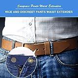 Adjustable Elastic Pants Waist Extenders and