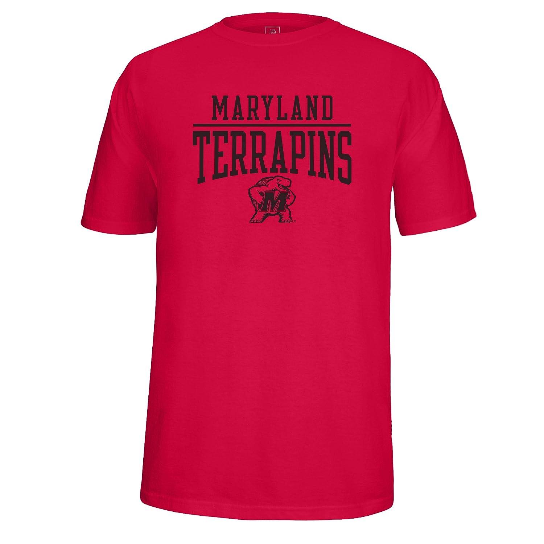 J America NCAA Mens School Name and Logo Tee