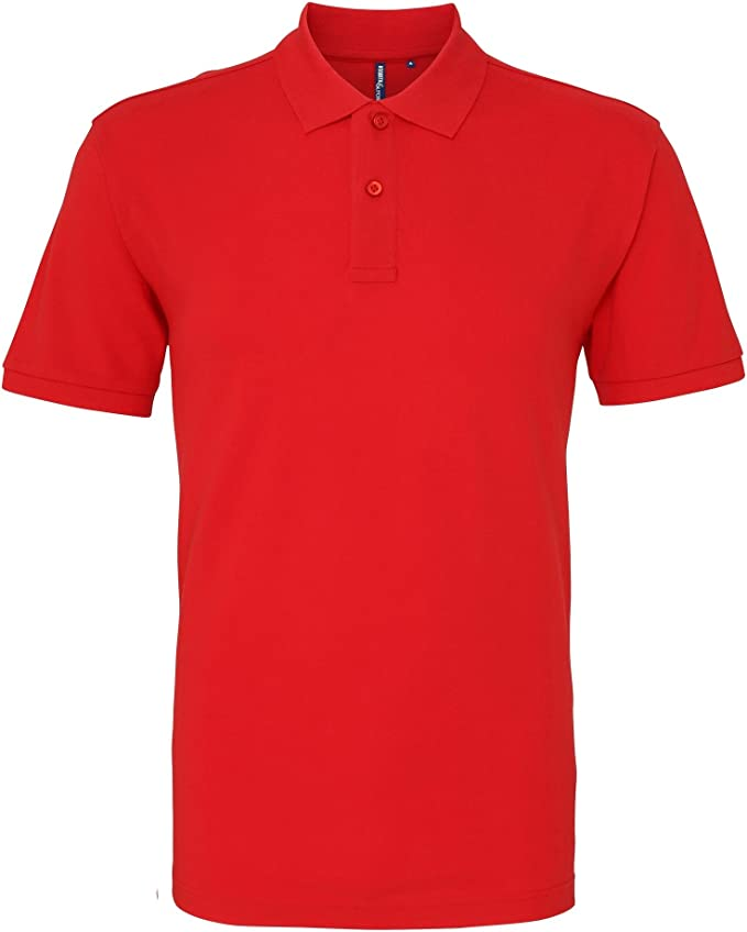 Asquith & Fox Asquith and Fox Mens Polo, Rojo (Red 000), XX-Large ...