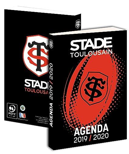 Calendrier Stade Toulousain 2019.Agenda Scolaire Toulouse 2019 2020 Collection Officielle Stade Toulousain