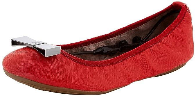 Damen Chloe II Geschlossene Ballerinas, Rot (Tomato Red 099), 38 EU Butterfly Twists
