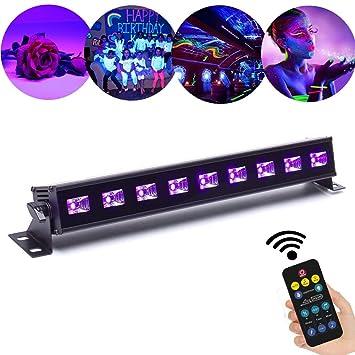 27W UV verlichting zwart licht 12LED x 3Watt ALICE DREAMS UV LED bar ...