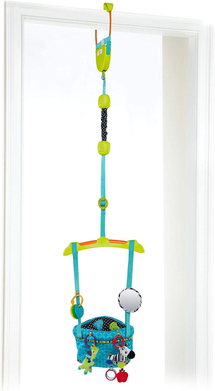 Bright Starts, Saltador de Puerta Bounce 'N Spring Deluxe™, Azul