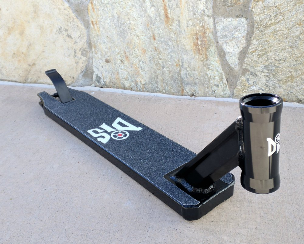DIS Integrated Scooter Deck - Black by DropIn Scooters