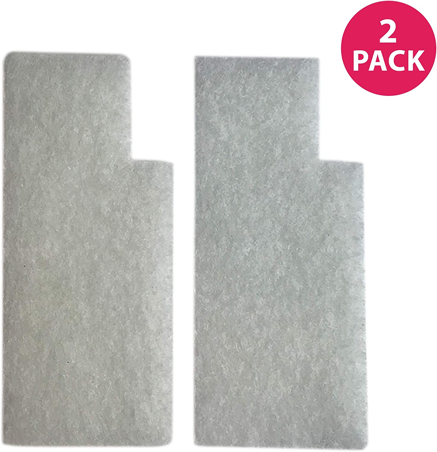 Crucial Vacuum Filter Replacement Parts Compatible with Hoover Secondary Filters Part # 38765019, 38765023 - Fits Hoover Tempo, WidePath, Fold Away, and WindTunnel Vacuums - Perfect for Home (2 Pack)