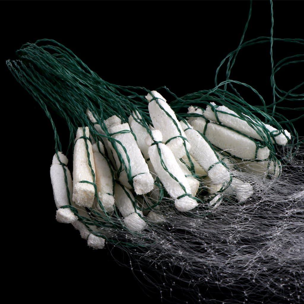 Gwxevce Fischerei Fisch Mesh Trap Monofilament Kiemennetz Netting Tackle Outdoor 8M x 0,8M