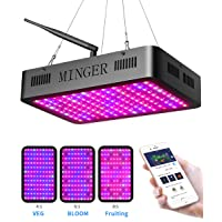Deals on Minger 600W LED Grow Lights with APP Control H7004111