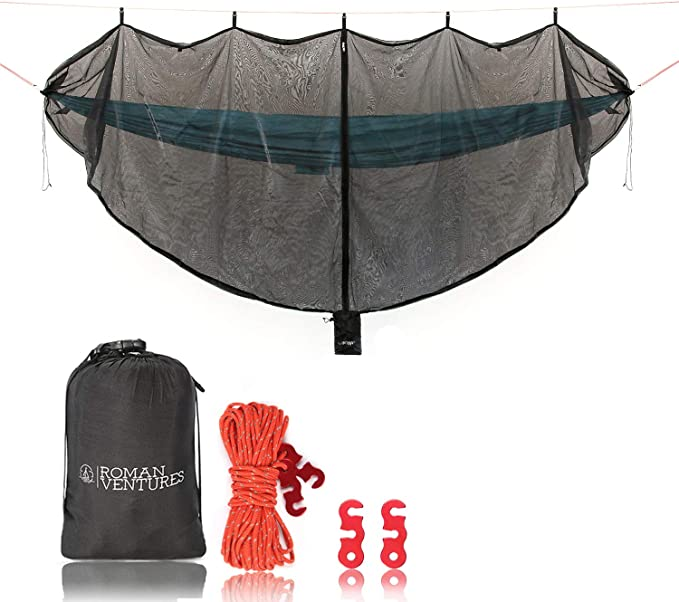 Roman Ventures Hammock Bug Net - ​Extra Spacious
