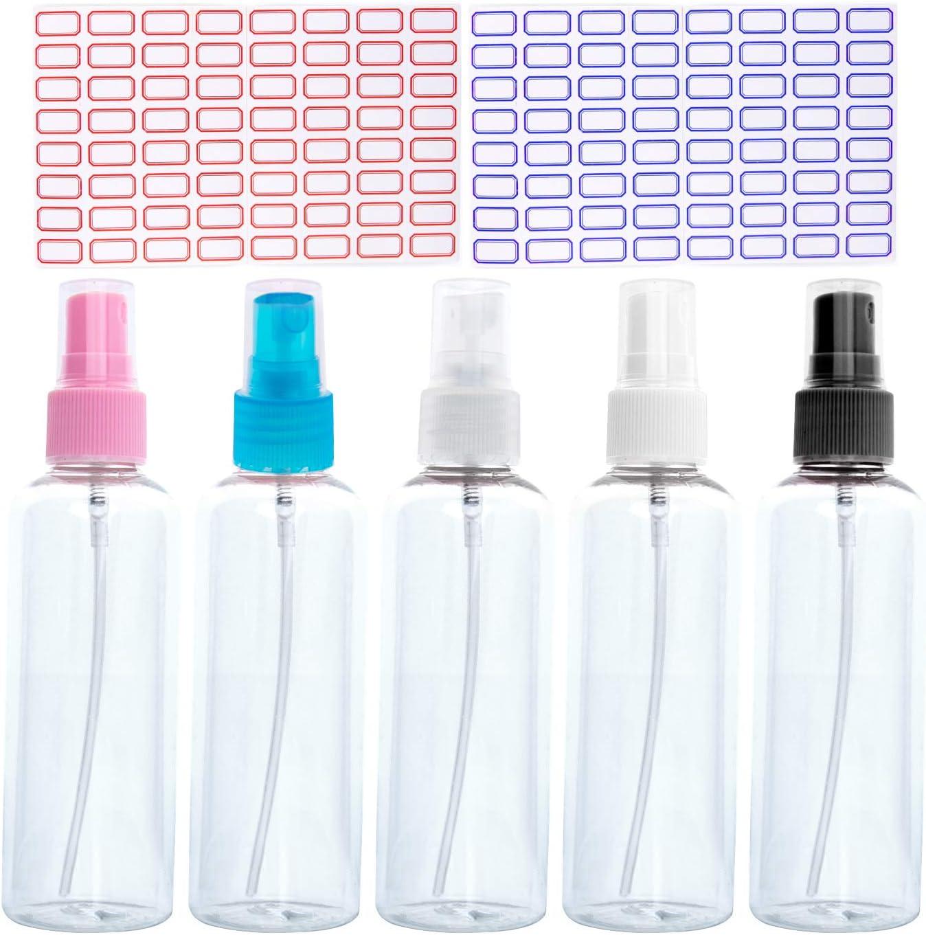 Spray Bottle 100ml Plastic Refillable