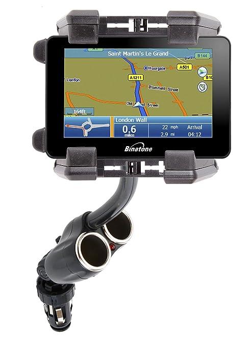 DURAGADGET Soporte De Coche Flexible Para El GPS Binatone R430: Amazon.es: Electrónica