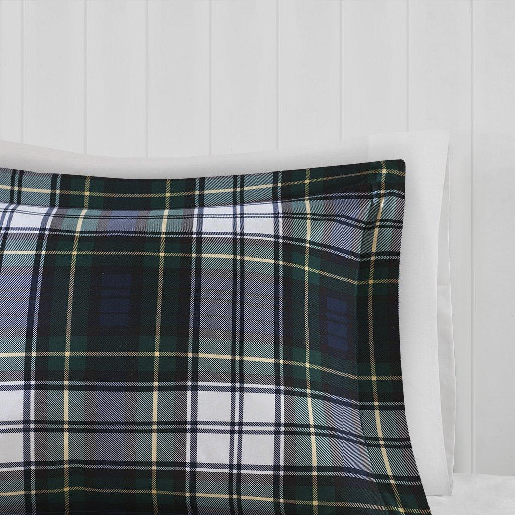 Madison Park Essentials Parkston Down Alternative Comforter Mini Set, Full/ Queen, Navy by Madison Park (Image #4)