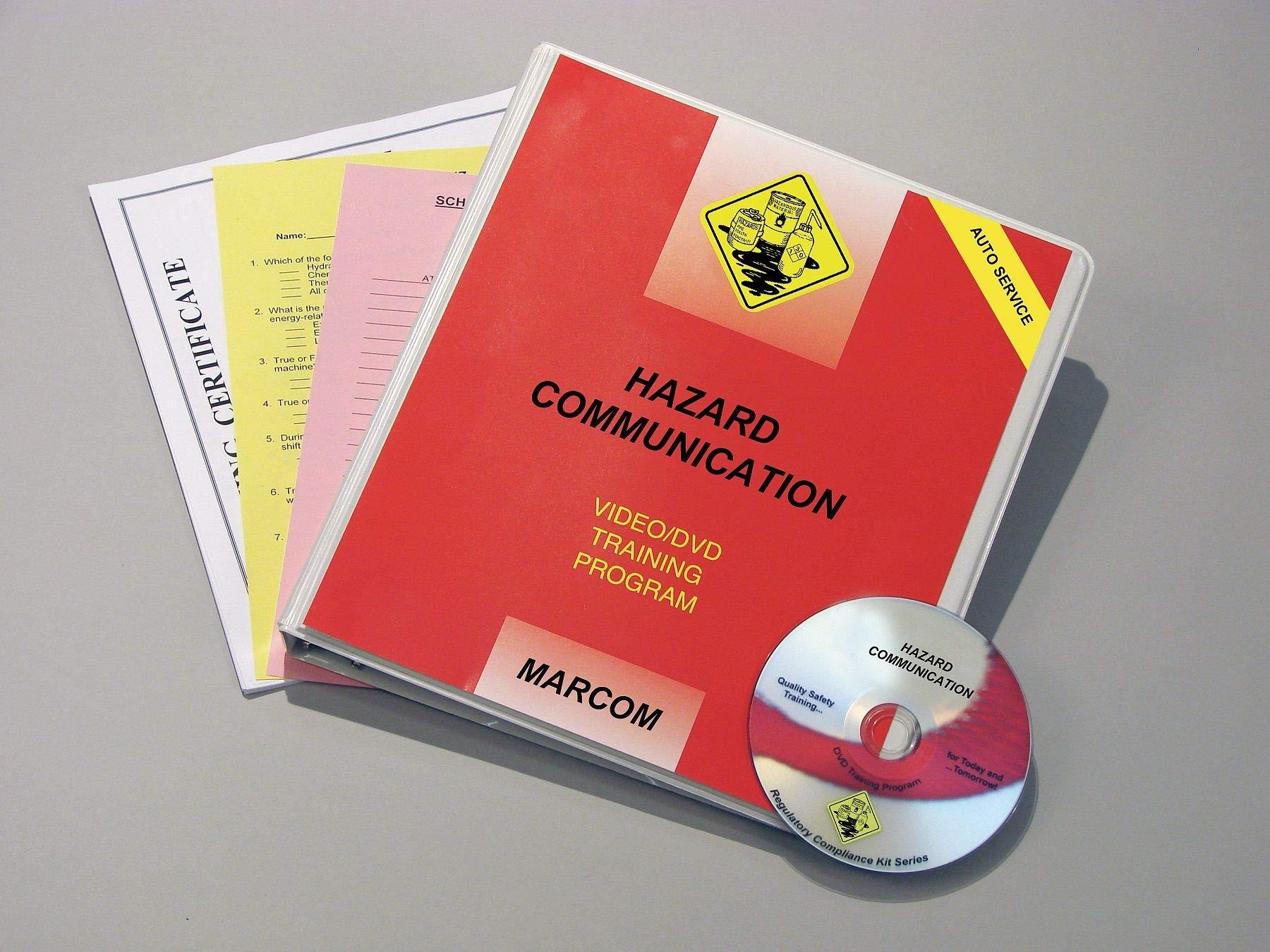 Marcom Training DVD, Hazard Communication - V0001679EO