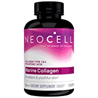 Neocell Marine Collagen, 120ct Collagen Pills with Hyaluronic Acid, Vitamin C, Magnesium...
