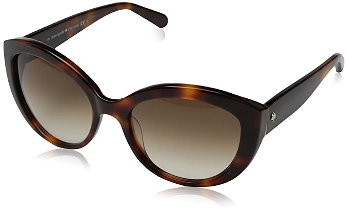 e17996cccc KATE SPADE SHERRIE S Sunglasses 005L Blonde Havana 55-18-135  Amazon ...