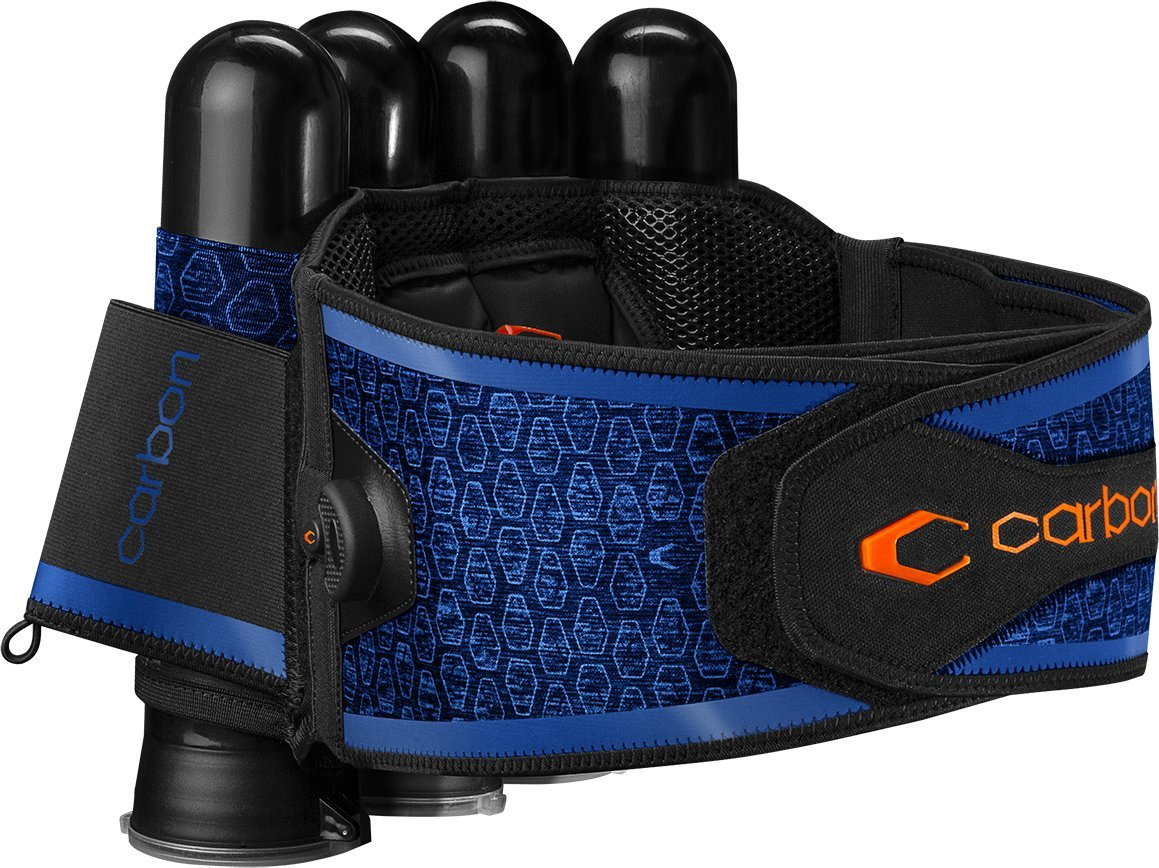Carbon SC Harness Paintball 4-Pack Blue by Carbon