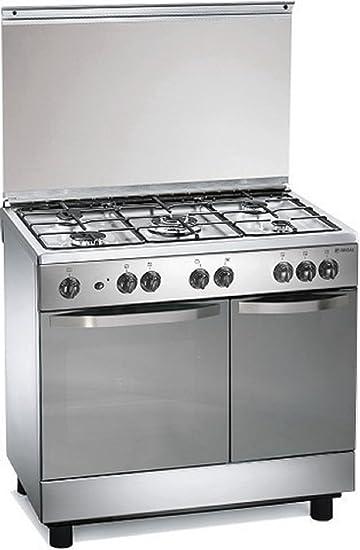 Cucina A Gas 90x60x85 Cm Inox 5 Fuochi Con Forno Elettrico   Regal  RC7965EX: Amazon.it: Casa E Cucina