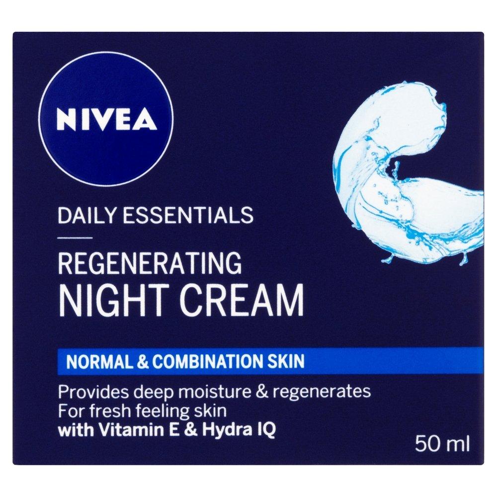 Nivea Daily Essentials Regenerating Night Cream, 50ml 106827567