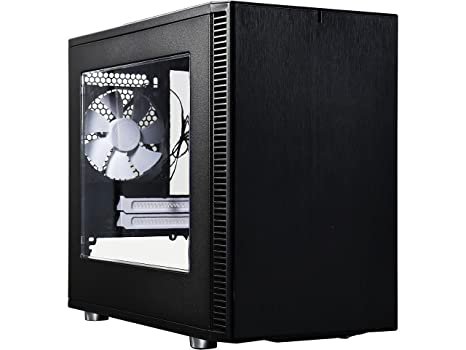 Fractal Design Core Nano S - Mini Tower Computer Case - ITX - Optimized for High Airflow and Silent Computing with Moduvent Technology - 2X Dynamix X2 ...
