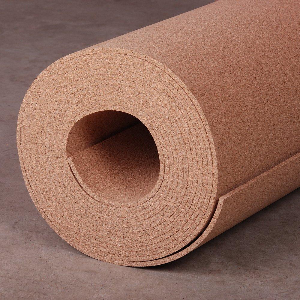 Manton Cork Roll, 100% Natural, 3' x 25' x 1/4''