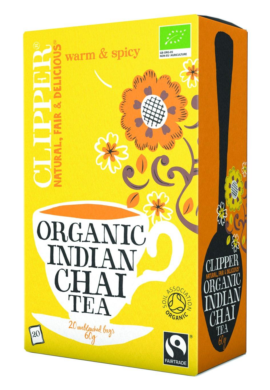 clipper tea love me truly organic chai. Black Bedroom Furniture Sets. Home Design Ideas