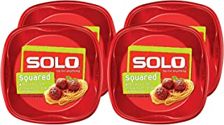 product image for Solo Plastic Party Plates, Red, 10 Inch, 120 Count,