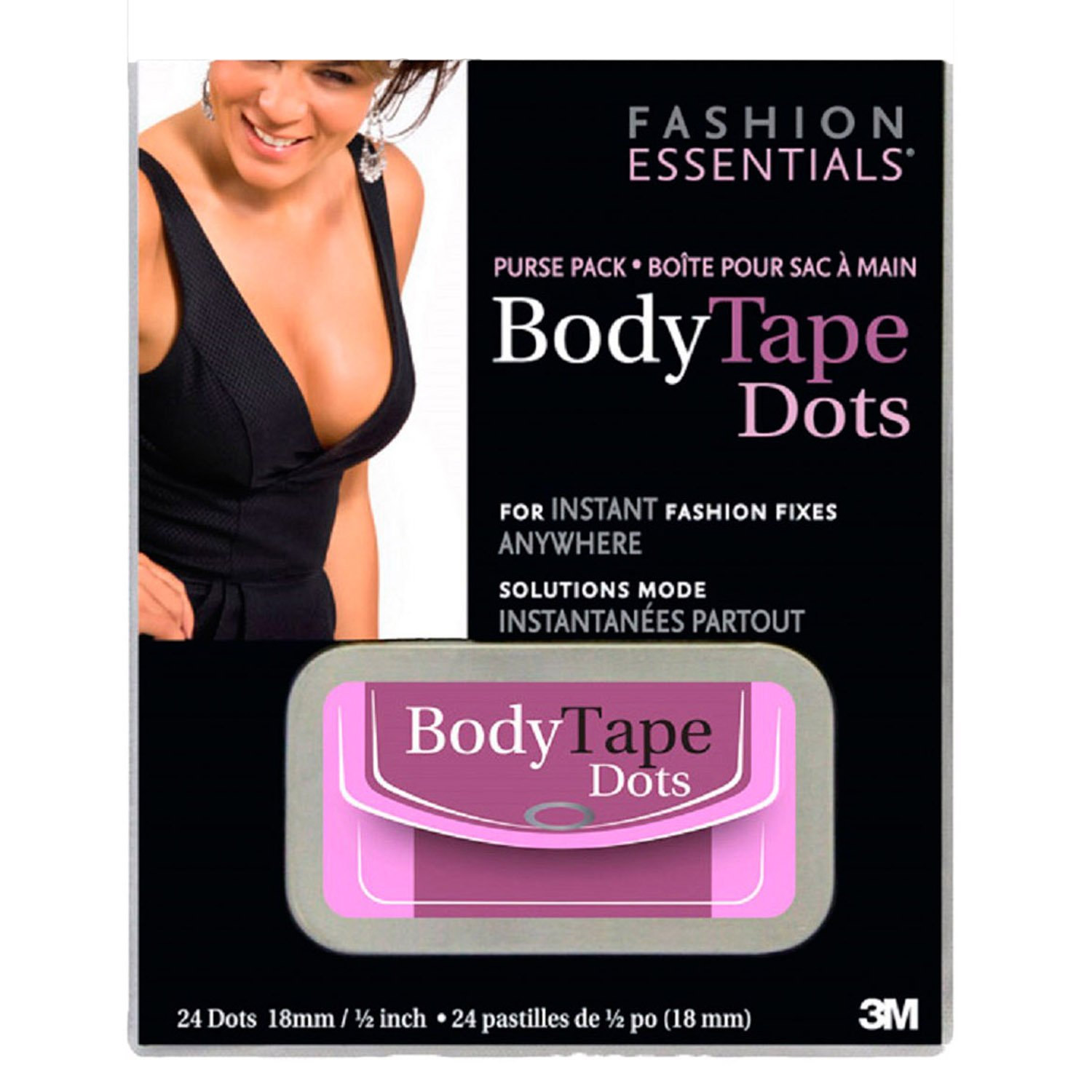 Fashion Essentials Womens Purse Pack Body Tape Dots-24 Dots