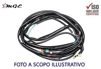 amazon com early vespa rally gt vnl2 old vespa wiring harness loom early vespa rally gt vnl2 old vespa wiring harness loom 6 volt ac e241