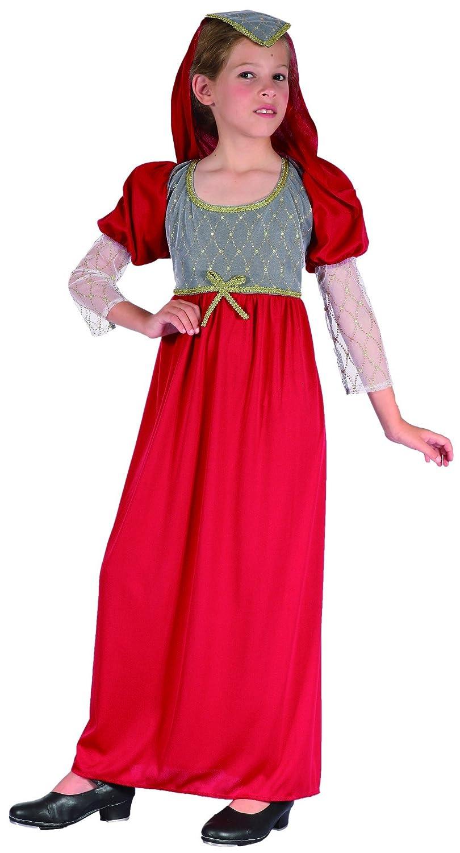 Disfraz medieval niña - 4 - 6 años: Amazon.es: Juguetes y juegos