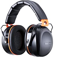 Noise Reduction Ear Muffs, Tacklife NRR 28dB Shooters Hearing Protection Ear Muffs, Adjustable Headband, Noise Cancelling Headphones for Kids and Adults - HNRE2