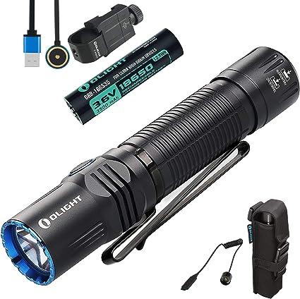 Olight Tactical Pro M2R Lampe De Poche 1800 lm Double Interrupteur rechargeable Lumière