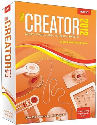 roxio creator 2012