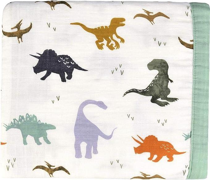 Comforter Bedspread Throw Blanket for Toddler Boys Crib Gift J-pinno Dinosaur Cute Muslin Quilt Blanket Bedding Coverlet 5, Toddler 47 X 59 100/% Cotton