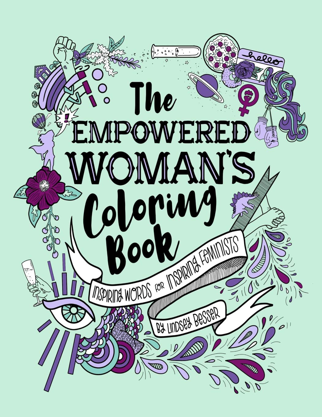 Empowered Woman's Coloring Book