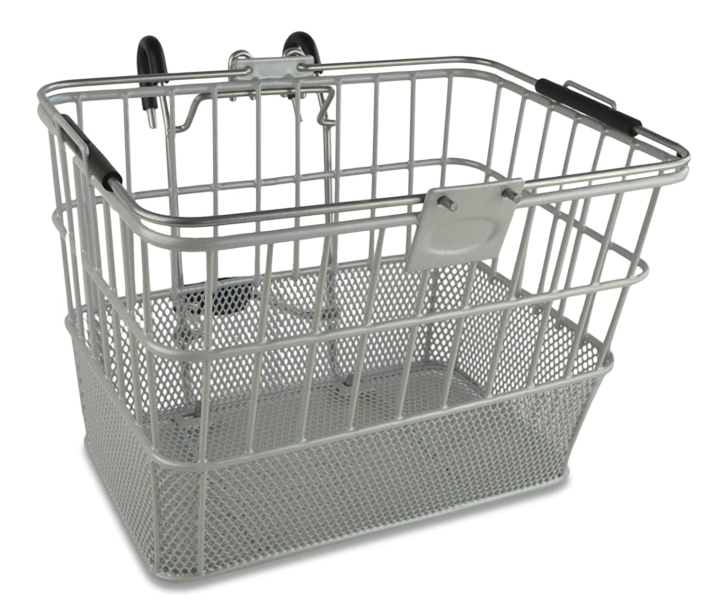 with Swing up Handle with Bracket. Wire Mesh Bicycle Basket Lift ...