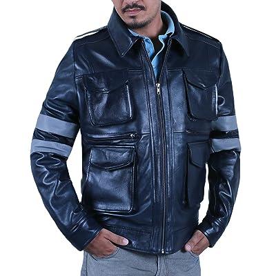 Laverapelle Men's Genuine Lambskin Leather Jacket (Black, Field Jacket) - 1501127 at Men's Clothing store