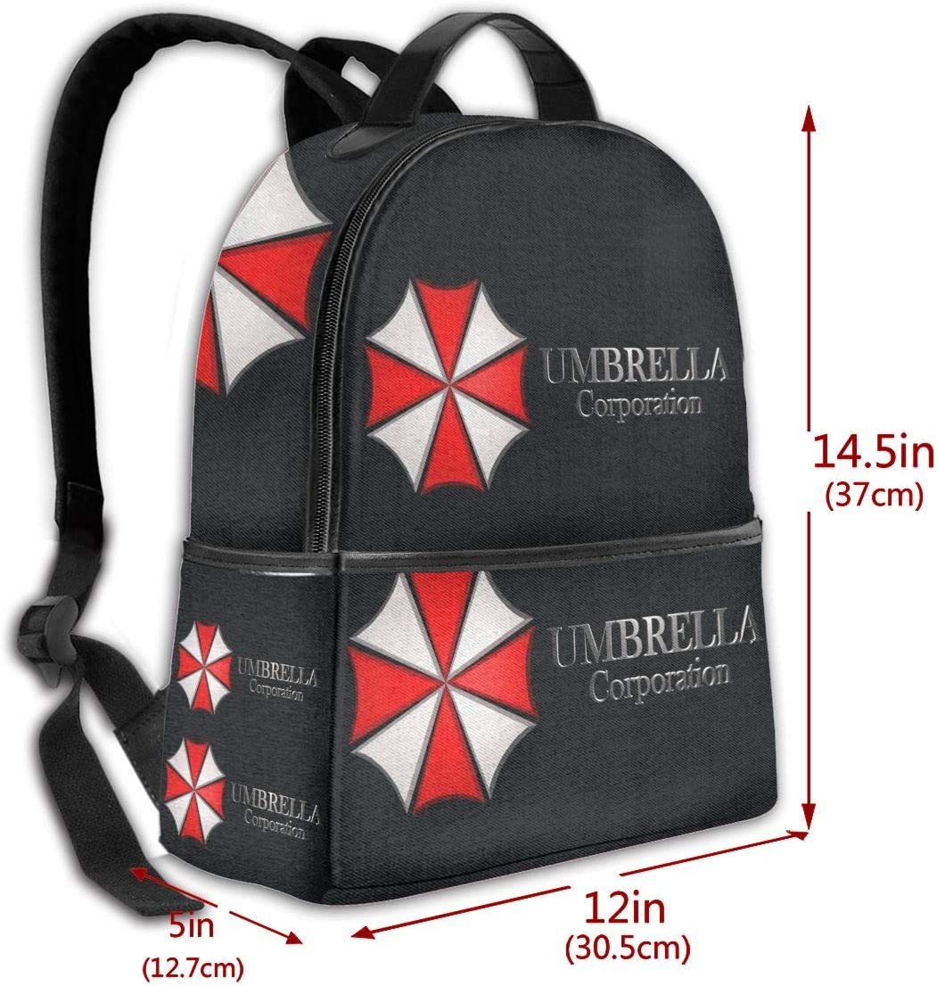 Breathable Back Panel Mr.Wessly Umbrella Resident Evil Nylon ...