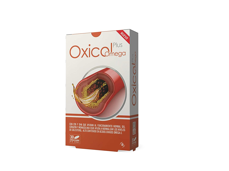 Oxicol Plus Omega para los triglicéridos y el colesterol- 30 Cápsulas blandas: Amazon.es: Salud y cuidado personal
