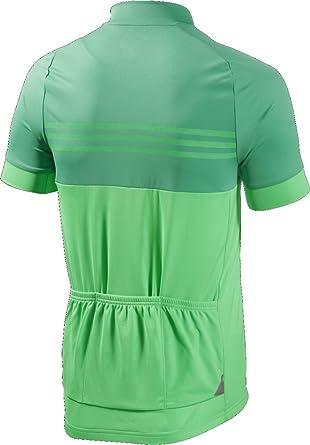 adidas Response-Camiseta para Hombre, diseño de Team-2016-Camiseta de Ciclismo para Hombre, Color Verde, Color Verde - Verde, tamaño S: Amazon.es: Deportes y aire libre