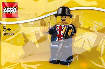 LEGO 40308 Lester Minifigure UK Exclusive