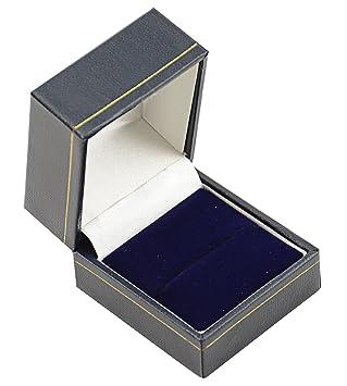 Hermosas cajas de madera de terciopelo sintético para ...
