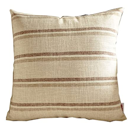 d4929185dec uus Beige Sofa Cushion Cushion Cover Modern Simple Strips Chair Cushion For  Bed  Sofa Chair  Car With Pp Cotton Filling Different Sizes Soft And ...