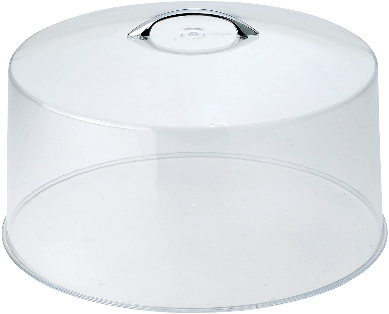 Winco, Clear CKS-13C Round Acrylic Cake Stand Cover, 12-Inch, 1 Pack