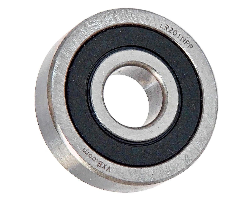 LR201NPP Track Roller Bearing 12x35x10:Sealed