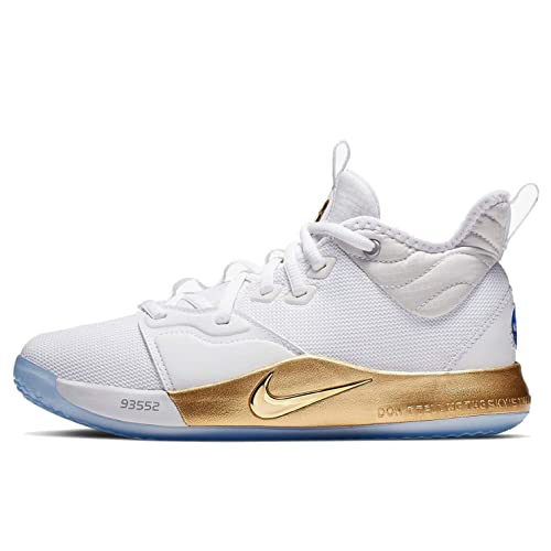 ebca4757f927e Amazon.com | Nike Pg 3 NASA (gs) Big Kids Ci8973-100 | Basketball