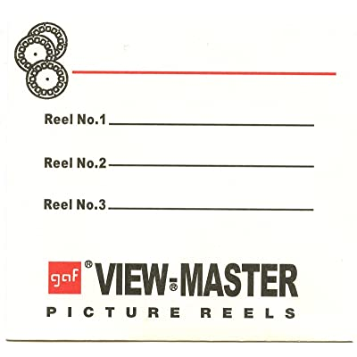3 Reel Sleeves for View-Master Packets - USA - Gaf - Pack of 25 - NEW: Toys & Games