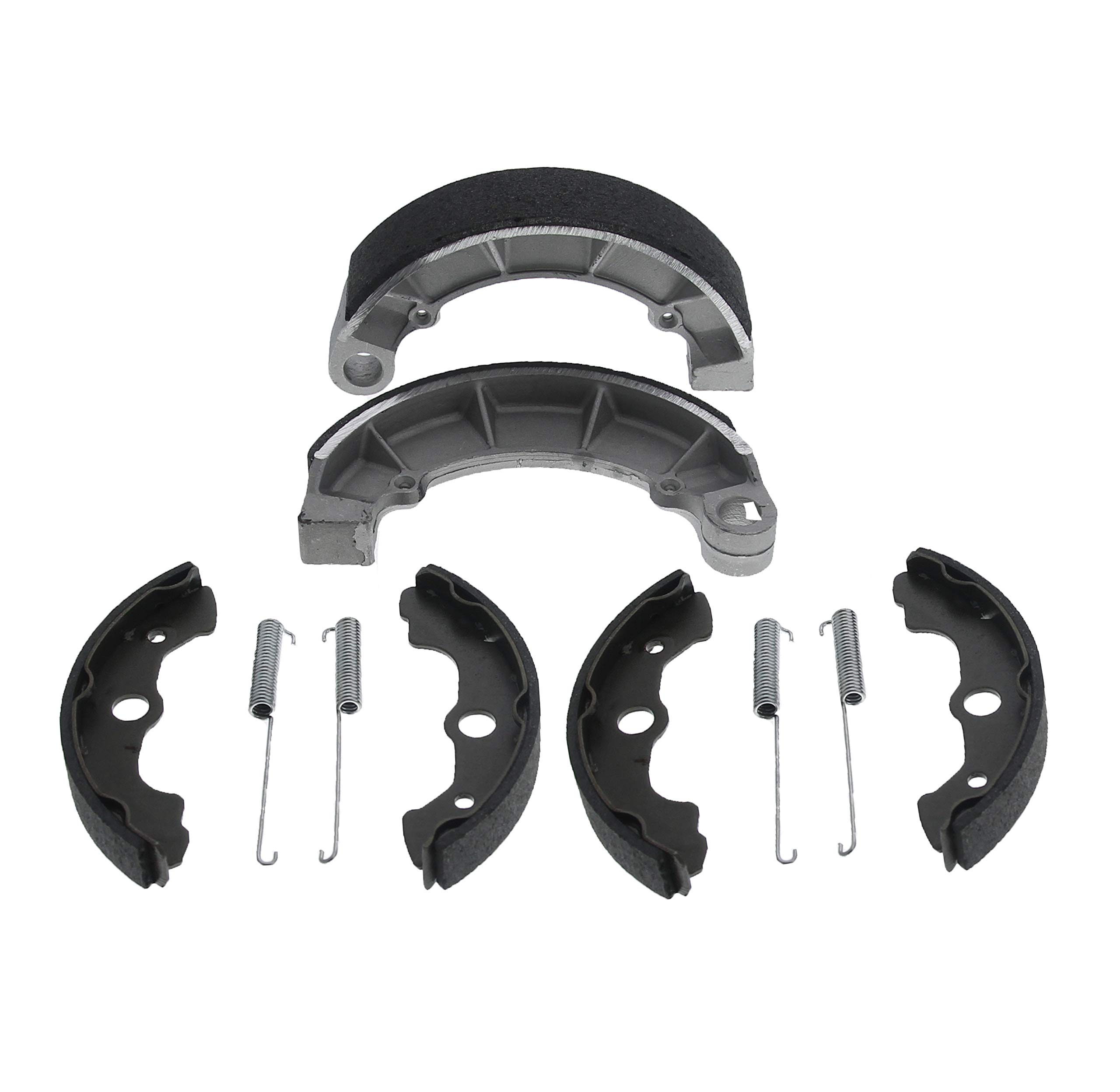 Race Driven OEM Replacement Standard Front and Rear Brake Shoes for Honda Foreman Rubicon 500 TRX500FA 4x4 by Race-Driven