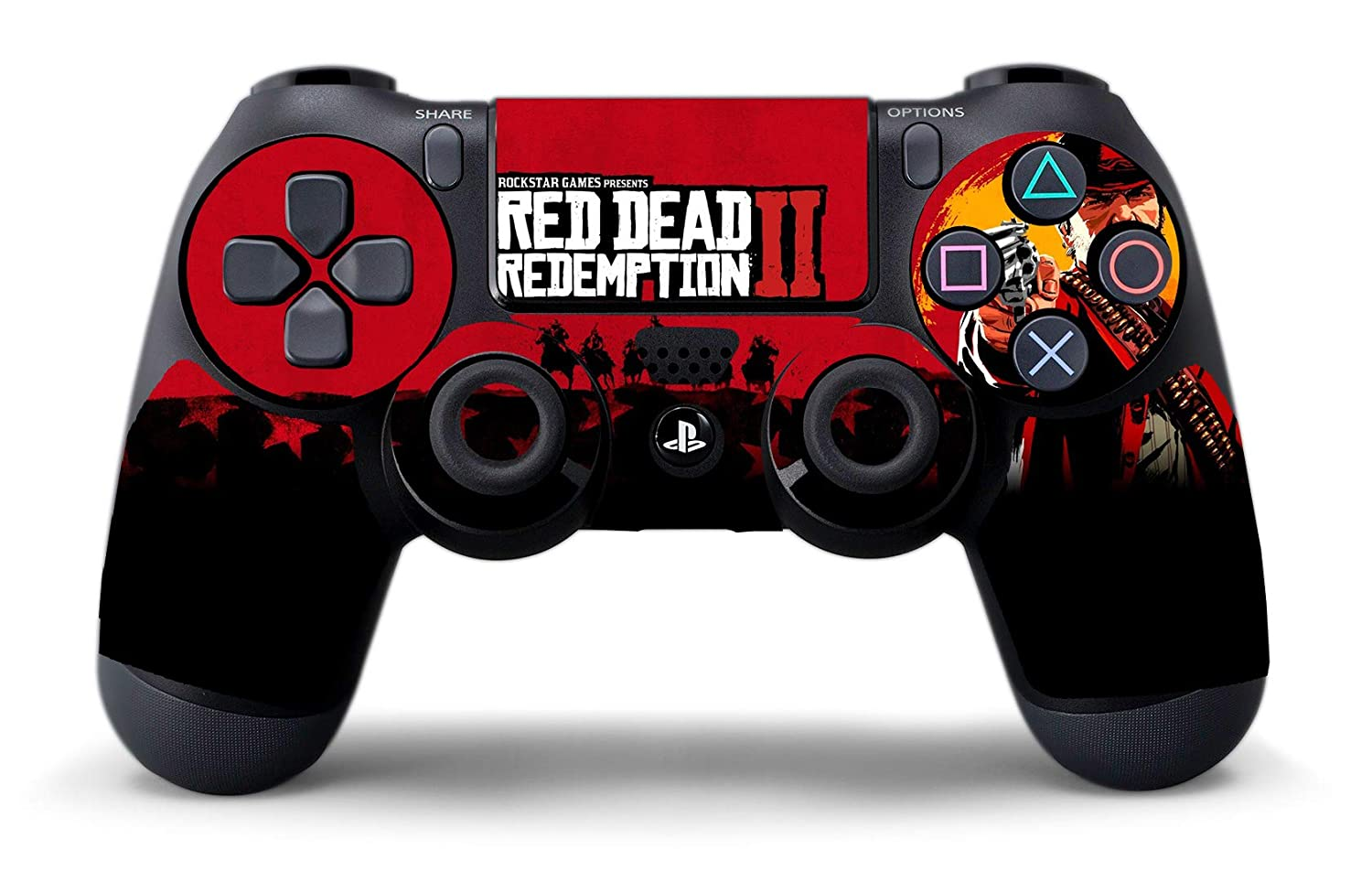 Stickers Red Dead Redemption 2 para Playstation 4, PS4: Amazon.es ...